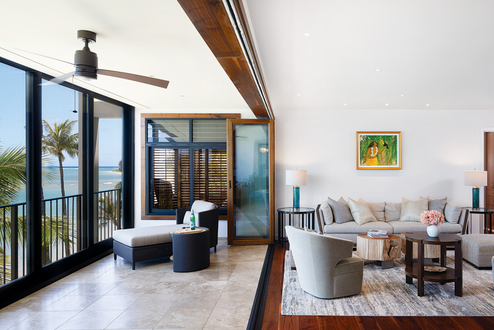 Photot of an AGT Construction remodel featured in March issue of Hawaii Home Magazine